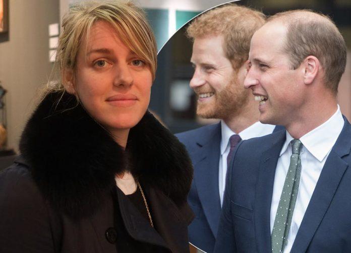 Prince William, Prince Harry step-sister revealed