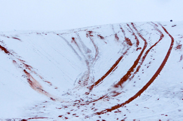 Snow falls on the sahara desert for the second time