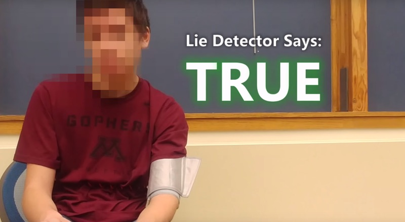 Time traveller 'from 2030' PASSES lie detector test (Watch)