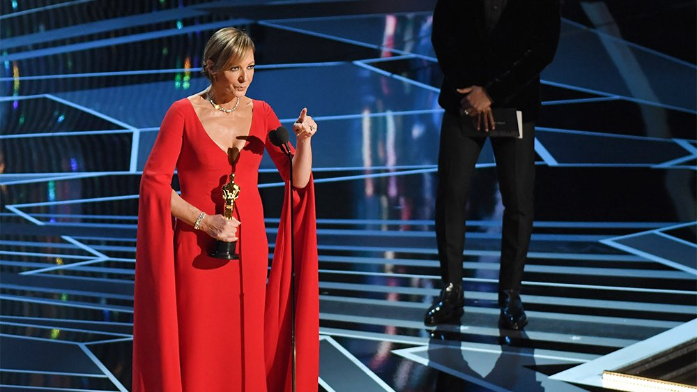 Allison Janney Oscar Speech: 'I Did It All By Myself.' (Watch)