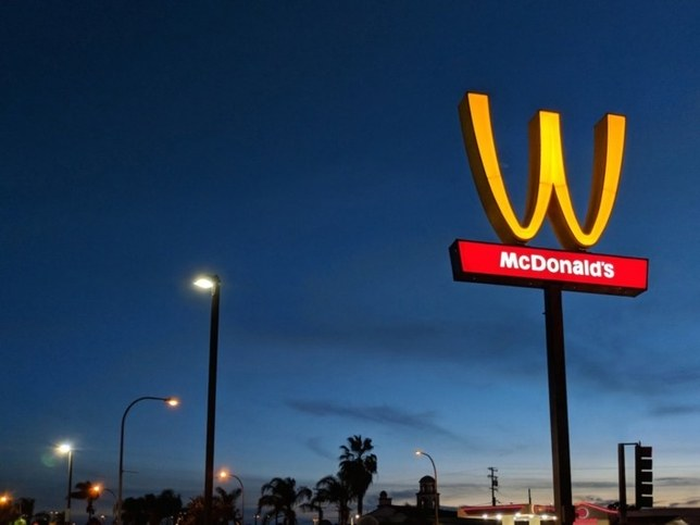 McDonald's flips logo M to W for weird nod at women's day
