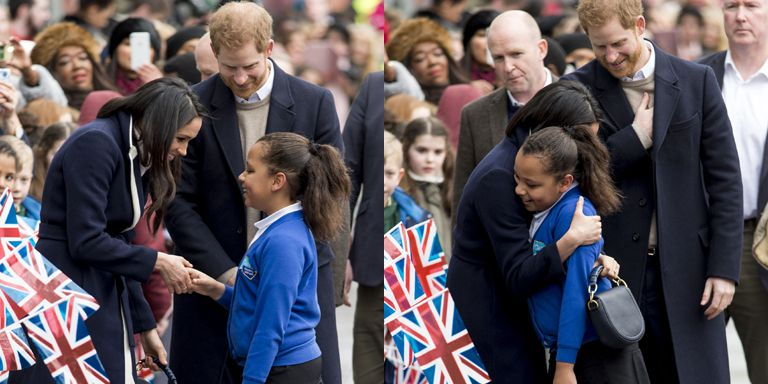 Meghan Markle Broke Royal Protocol in Birmingham (Video)