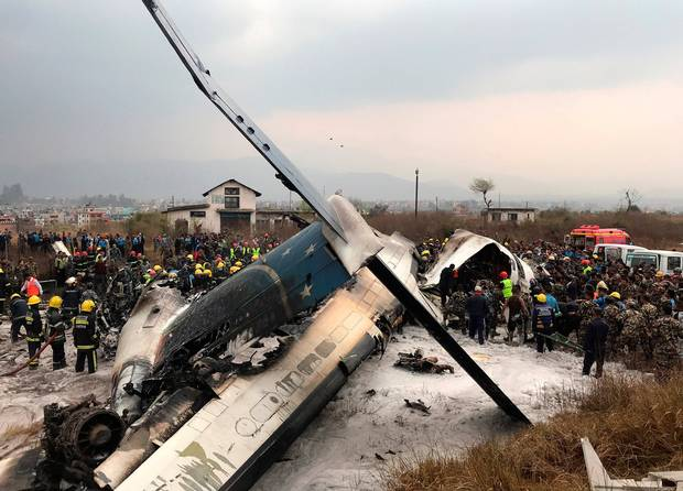Nepal Plane Crash: US-Bangla Aircraft Skids Off Runway, Many Casualties Feared