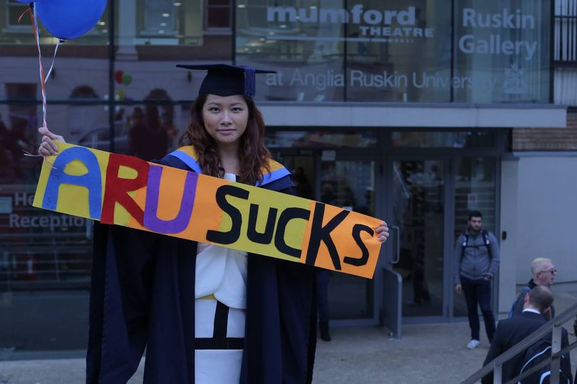 Student sues anglia ruskin university over 'Mickey Mouse' degree