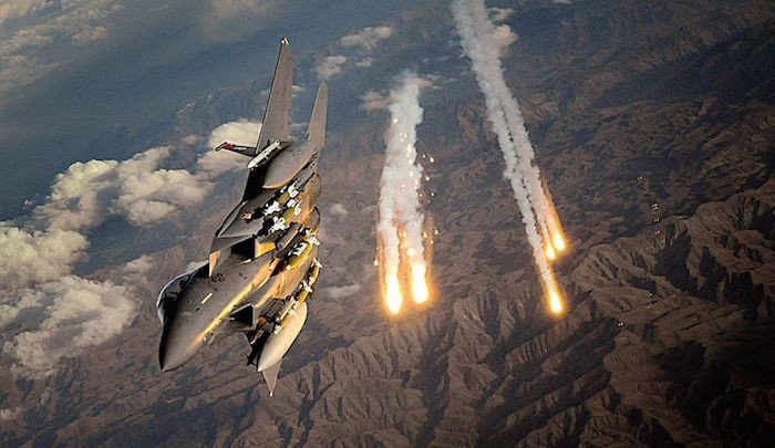 Airstrikes on Syria: US and allies attack 'chemical weapons sites'