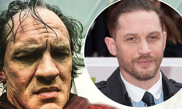Tom Hardy looks completely unrecognisable as Al Capone (Picture)