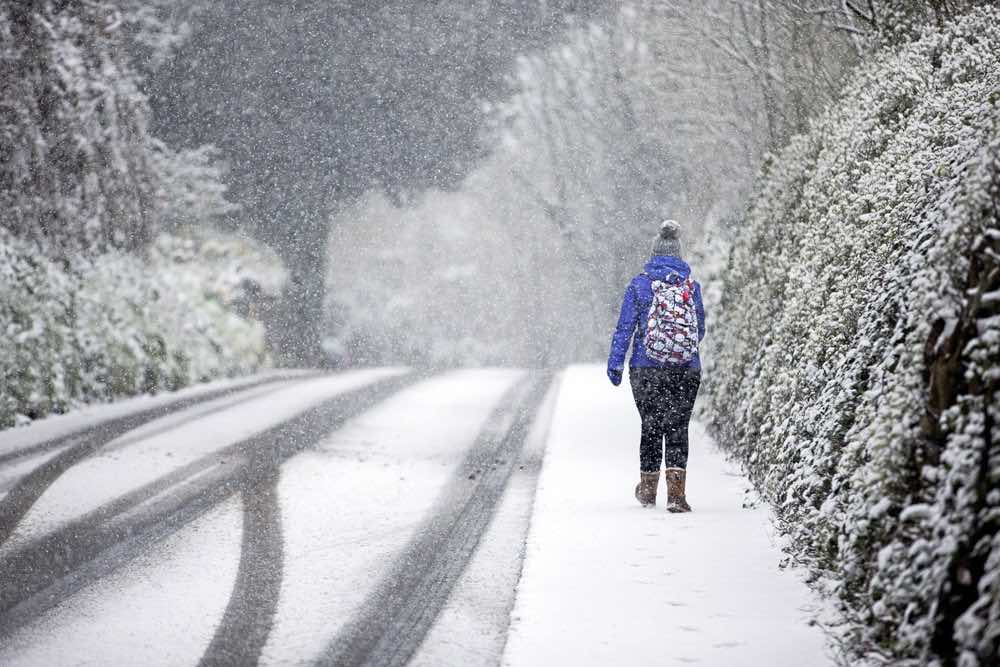 UK: Snow this weekend? Up To A Month Of Rain In A Day And Gale Force Winds