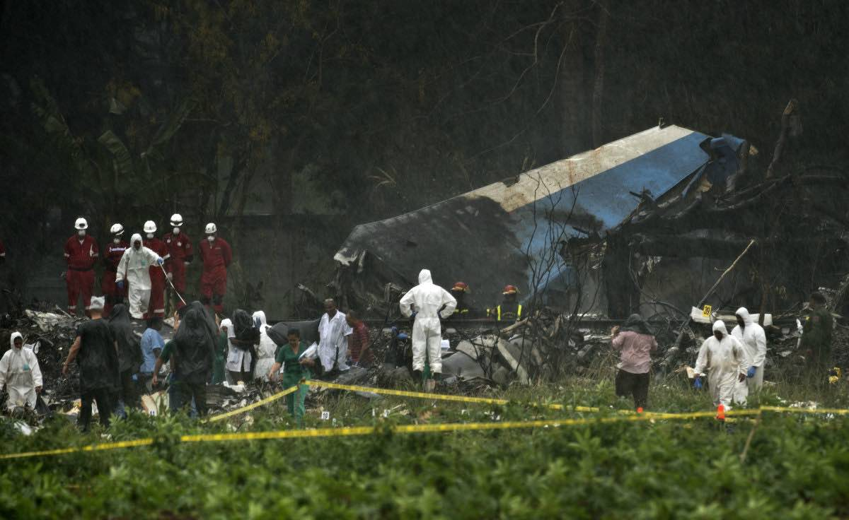 Cuba Plane Crash Death Toll At 110, Report