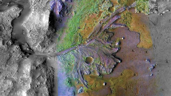 Iron-rich rocks near lake sites on Mars may (Study)