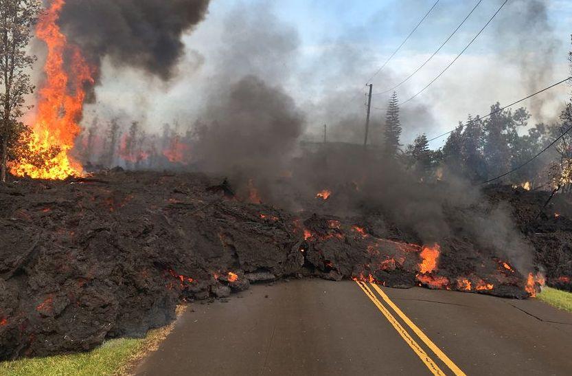 Kilauea volcano toxic gas alert for Hawaii residents