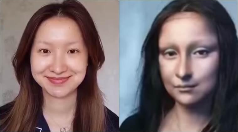 Make-up artist in Da Vinci's Mona Lisa is going viral (Watch)