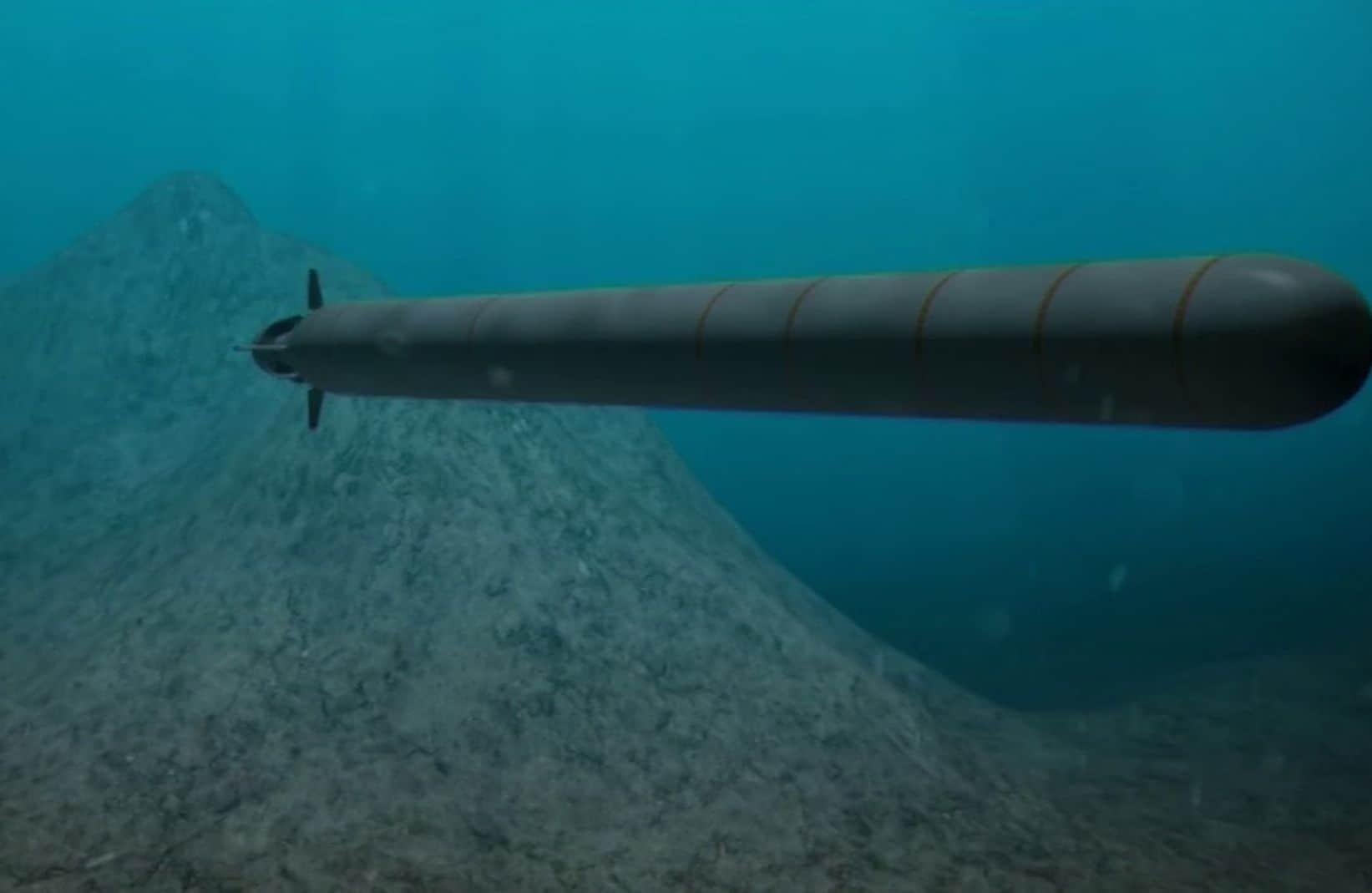 Putin Unveils Russia's Newest Underwater Drone