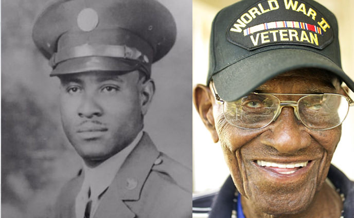 Richard Overton, veteran celebrates 112th birthday!