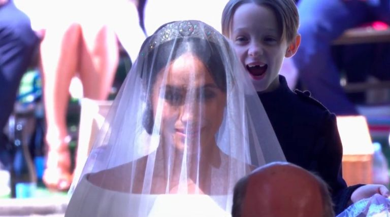 Royal Wedding: Page boy's viral photobomb (Picture)