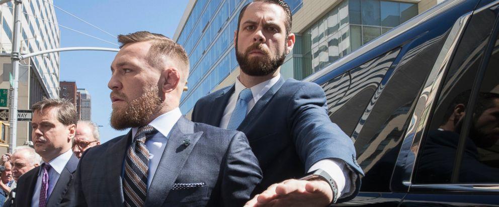 Conor McGregor says he regrets Brooklyn melee, Report