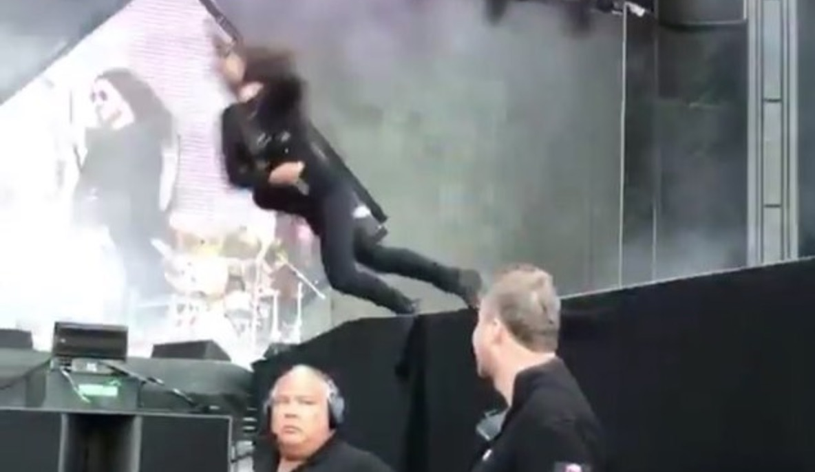 Foo Fighters prank fans in Gothenburg with fake stage fall (Watch)