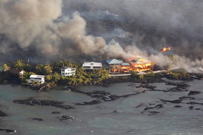 Hawaii Mayor: Lava has destroyed 600 homes