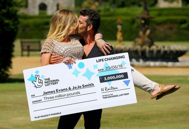 James Evans: Gardener wins £3MILLION on lottery