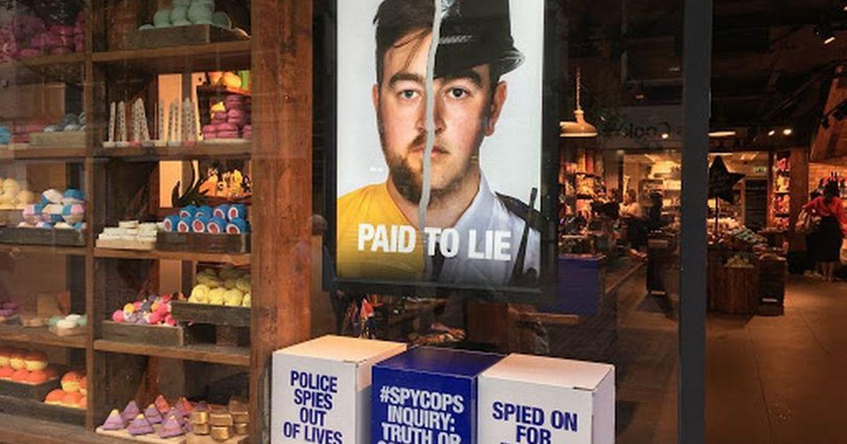 Lush 'anti-spy police' campaign criticised