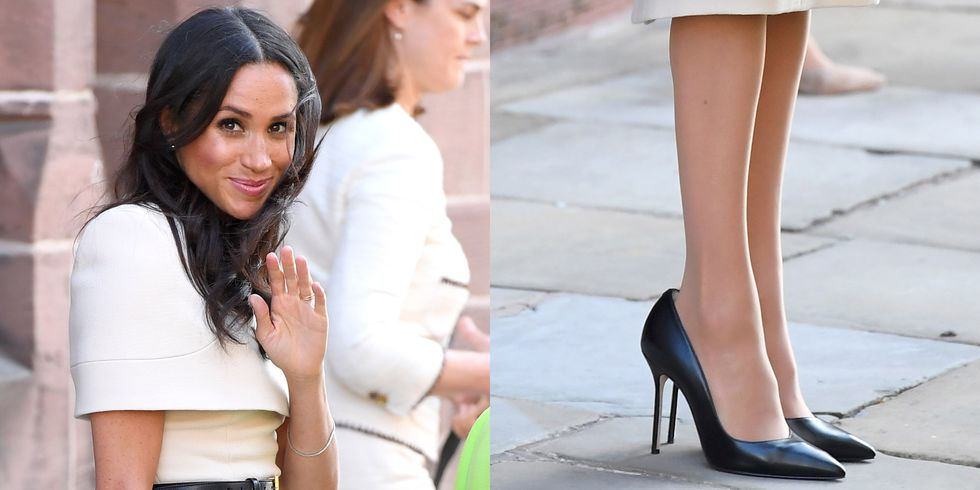 This is why Meghan Markle wears shoes that are too big