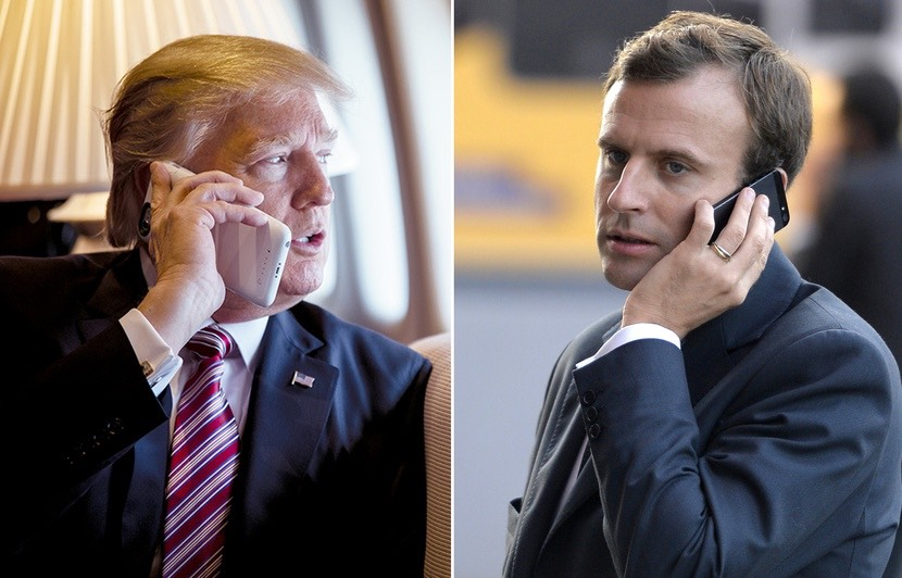 Trump, Macron terrible call: 'He can't handle being criticized'