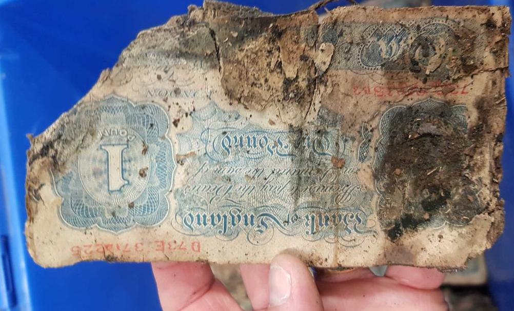WW2 cash hoard found under Brighton shop floor