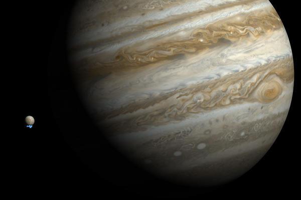 Jupiter's moon Europa could host life