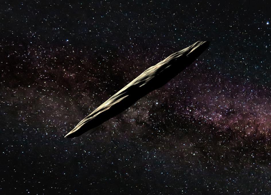 Oumuamua interstellar interloper is speeding up, Report