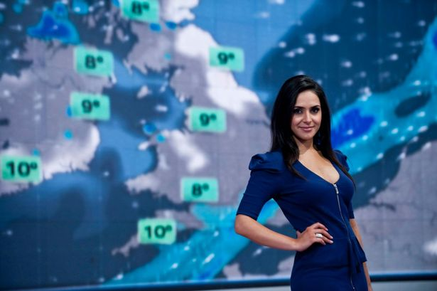 Sky weathergirl reduced to tears by viewer's spiteful advice to (Watch)