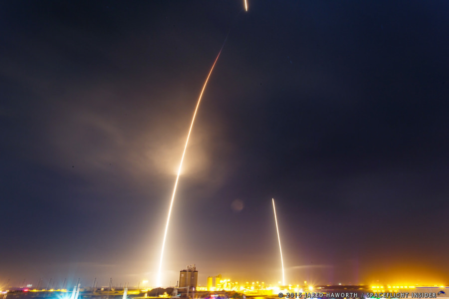 SpaceX launches Falcon 9 at Cape Canaveral (Watch)
