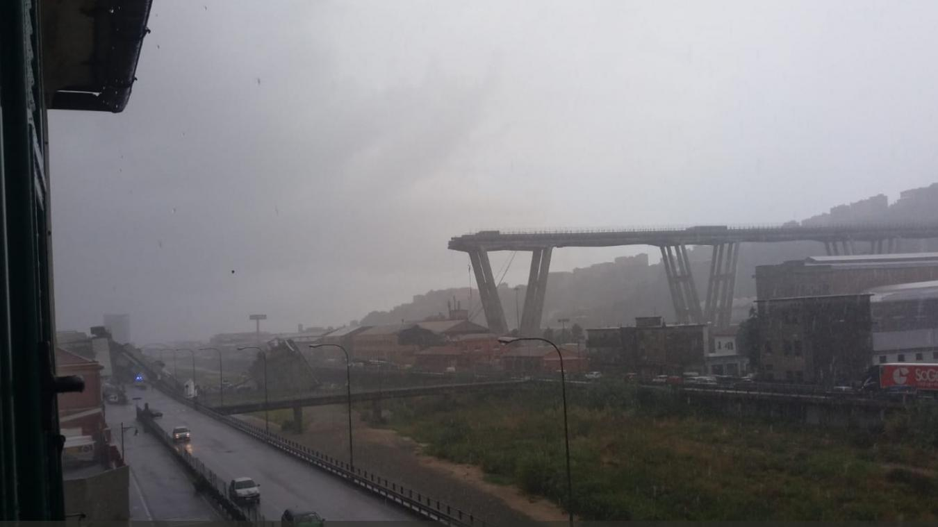 Italy bridge collapse: Dozens feared dead in 'apocalyptic scene' (Video)