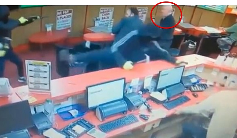 83-year-old punter fights off three armed robbers at TAB (Photo)
