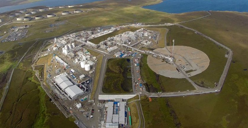 Gas field found off Shetland, Report