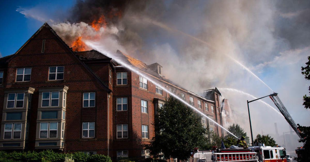 Man found alive 5 days after washington DC building fire