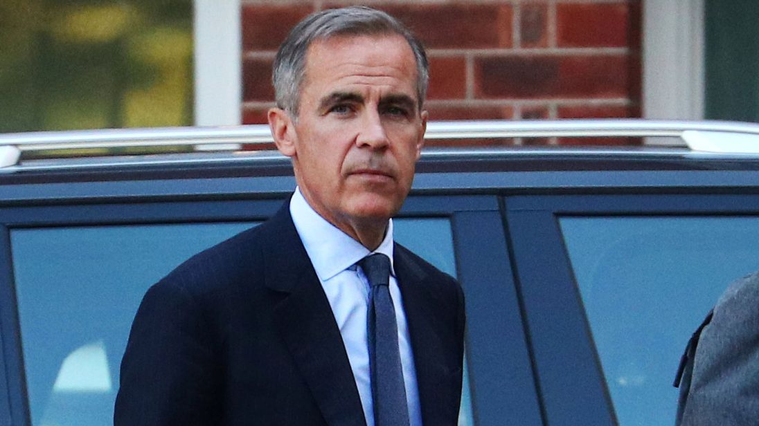 Mark Carney: No-deal Brexit could be as bad as 2008 financial crash