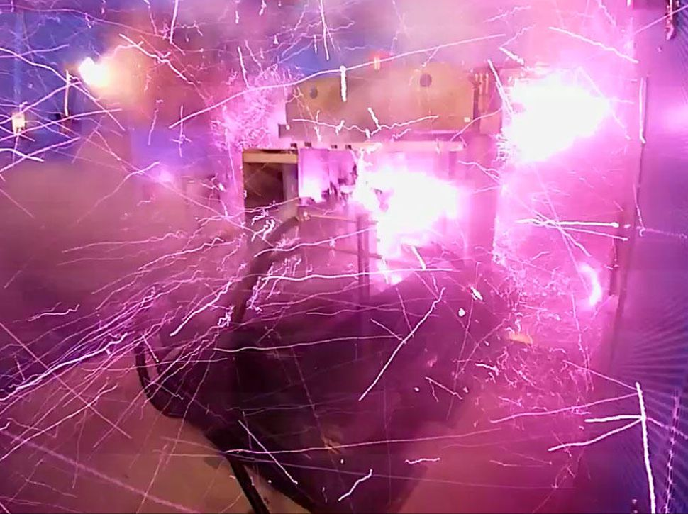 Scientists blow up their lab after creating strongest magnet ever (Video)