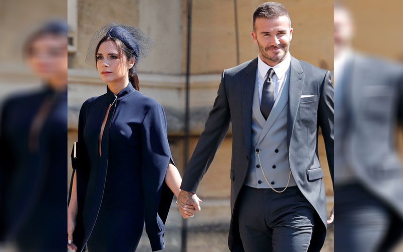 Victoria, david beckham give split rumours, Report