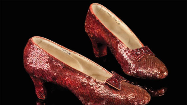 'Wizard of Oz' slippers found 13 years after being stolen (Photo)