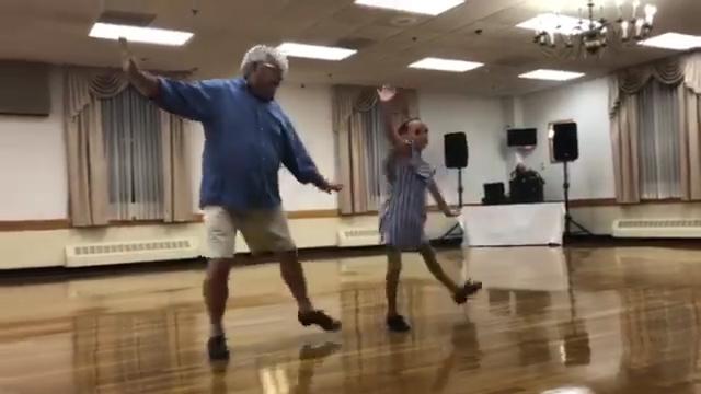 Bill Jones, 72, Maeve, 10, Tap Dance takes internet by storm