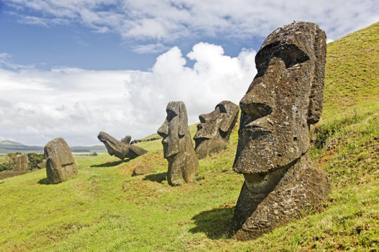 Easter Island mystery water: inhabitants collected freshwater