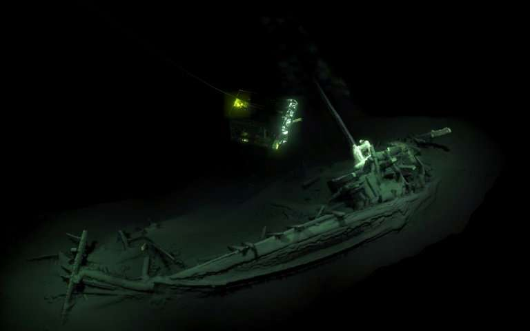 Oldest Intact Shipwreck Found in Black Sea, Report