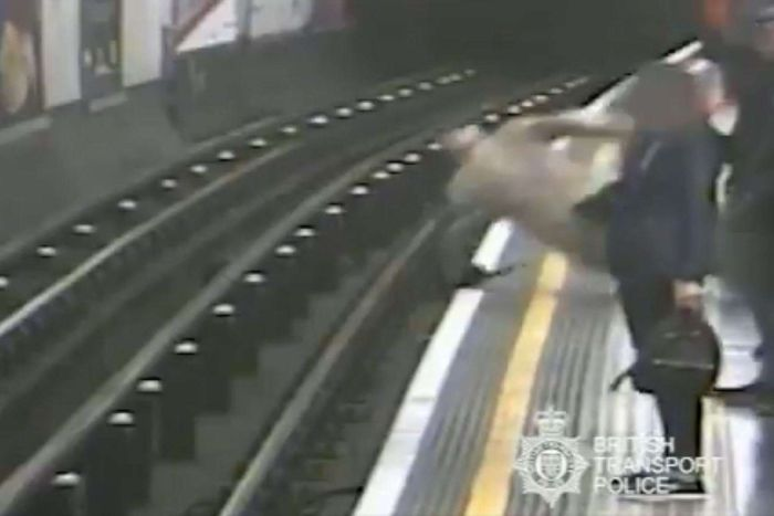 Paul Crossley guilty of trying to murder Robert Malpas in Tube push