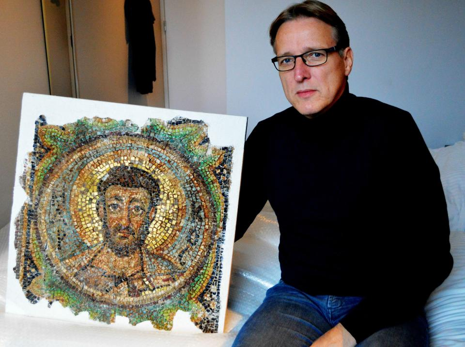 1600-year-old Cyprus mosaic returned after four decades