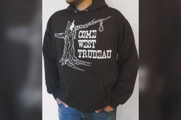 Anti-Trudeau hoodies draw attention from RCMP
