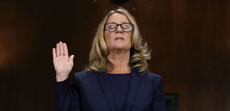 Christine Blasey Ford Thanks Supporters: