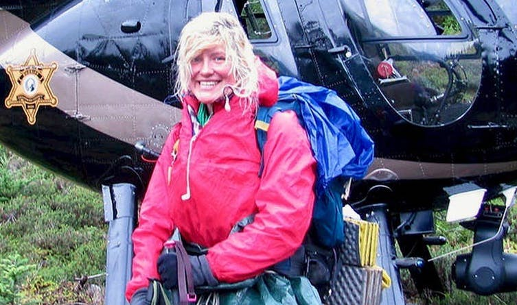 Nancy Abell: Hiker Trapped In Snowstorm Is Saved By Stranger