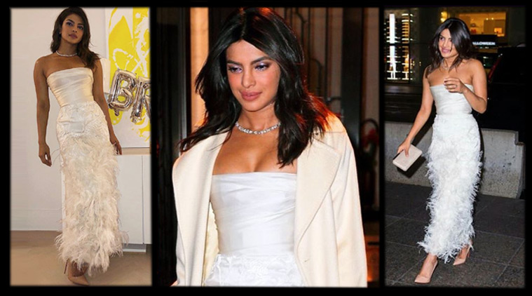 Priyanka Chopra's bridal shower dress was by Harvey Weinstein's ex