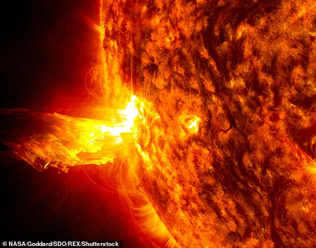 Solar flares mines: Study finds 1972 eruption caused sea mines to blow up