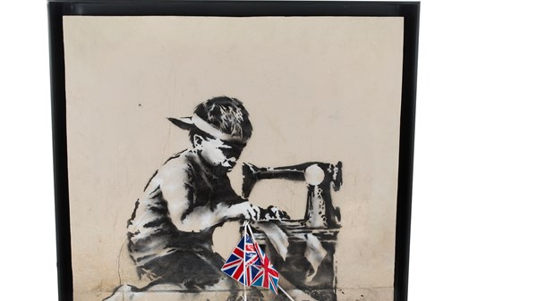 US artist : Buyer to whitewash Banksy in 'blow for street art'