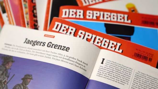 German reporter fired for writing fake stories in news magazine